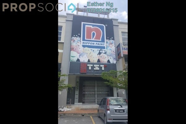 For Sale Shop at The Reef, Rawang Freehold Unfurnished 0R/0B 911k