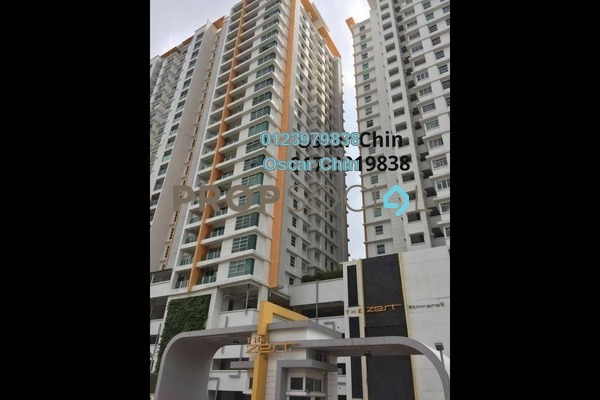 For Sale Condominium at The Zest, Bandar Kinrara Freehold Semi Furnished 3R/2B 650k