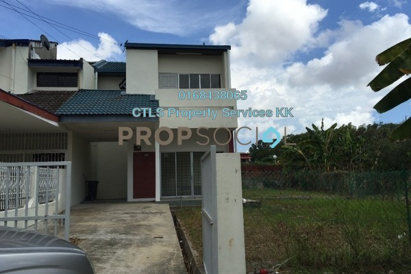 For Sale Terrace at Taman Golfview, Kota Kinabalu Freehold Unfurnished 4R/3B 780k