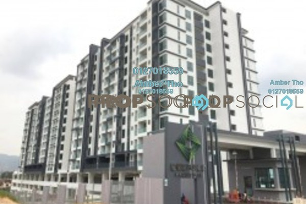 For Sale Condominium at Emerald Residence, Bandar Mahkota Cheras Freehold Unfurnished 3R/2B 551k