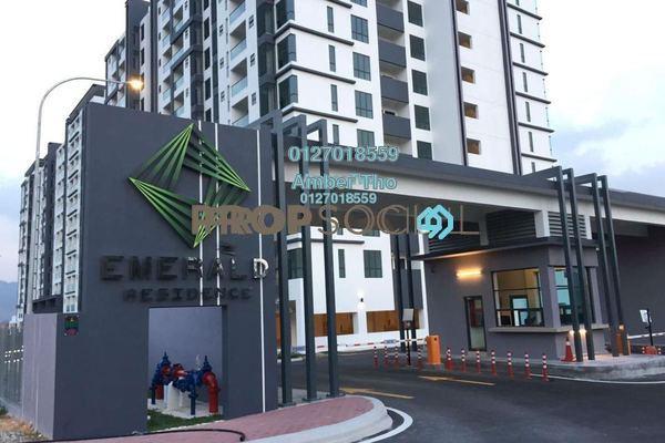 For Rent Condominium at Emerald Residence, Bandar Mahkota Cheras Freehold Unfurnished 3R/2B 1.26k