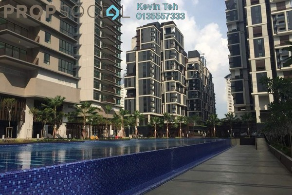 For Rent Condominium at Residensi 22, Mont Kiara Freehold Semi Furnished 4R/4B 14k