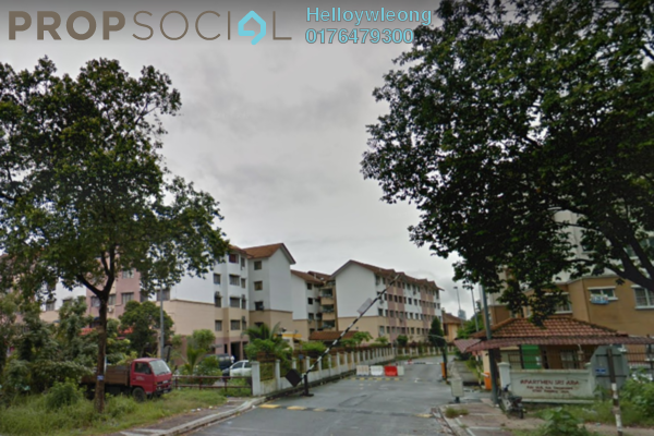 For Sale Apartment at Sri Ara Apartment, Ara Damansara Freehold Semi Furnished 3R/2B 375k
