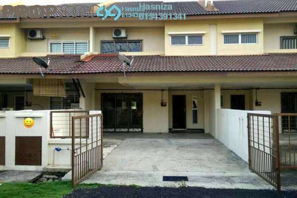 For Sale Terrace at Bandar Puncak Alam, Kuala Selangor Freehold Semi Furnished 4R/3B 410k