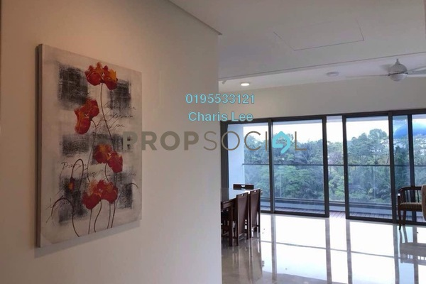 For Rent Serviced Residence at The Sentral Residences, KL Sentral Freehold Fully Furnished 3R/4B 8k
