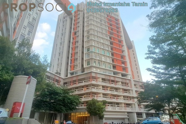 For Rent SoHo/Studio at Suria Jelutong, Bukit Jelutong Freehold Fully Furnished 1R/1B 1.5k