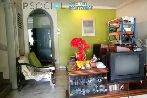 For Sale Terrace at Taman Bukit Maluri, Kepong Freehold Semi Furnished 4R/3B 818k
