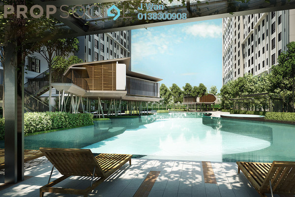 For Sale Condominium at M Centura, Sentul Freehold Unfurnished 3R/2B 420k