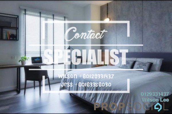 For Sale Condominium at The Westside One, Desa ParkCity Freehold Fully Furnished 2R/3B 1.25m