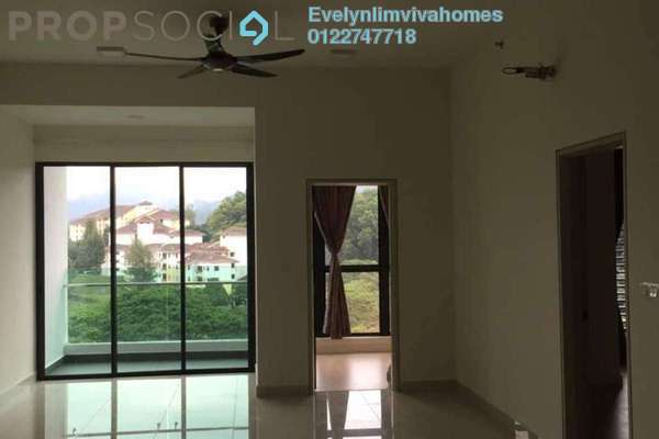 For Rent Condominium at Res 280, Selayang Freehold Semi Furnished 2R/2B 1.2k