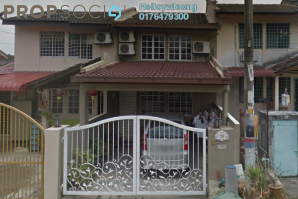 For Sale Terrace at Taman Menjalara, Bandar Menjalara Freehold Semi Furnished 3R/2B 588k