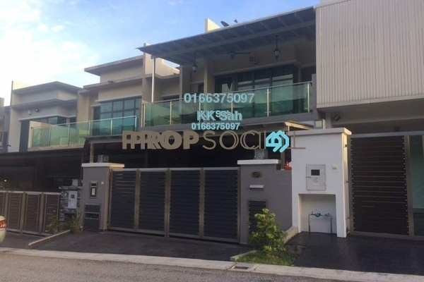 For Sale Superlink at Bandar Damai Perdana, Cheras South Freehold Fully Furnished 5R/5B 950k