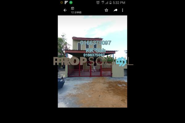 For Sale Terrace at Taman Teluk Pulai, Klang Freehold Semi Furnished 3R/2B 430k