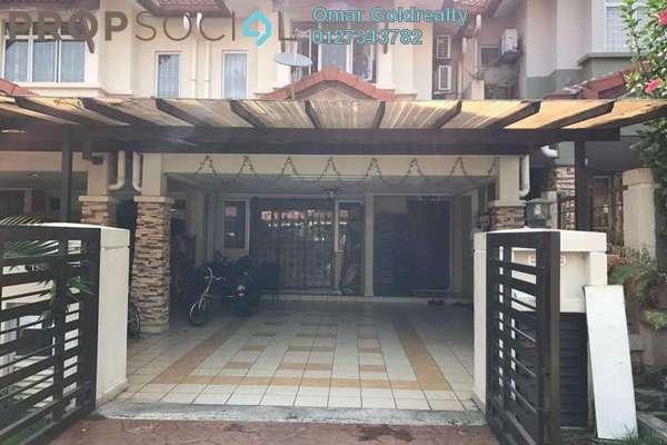 For Sale Terrace at Bukit Subang, Shah Alam Freehold Semi Furnished 4R/3B 630k