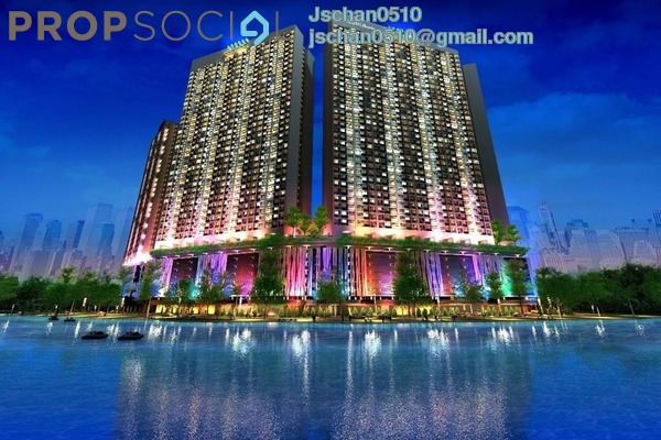 For Sale Condominium at Mizumi Residences, Kepong Leasehold Semi Furnished 4R/2B 420k