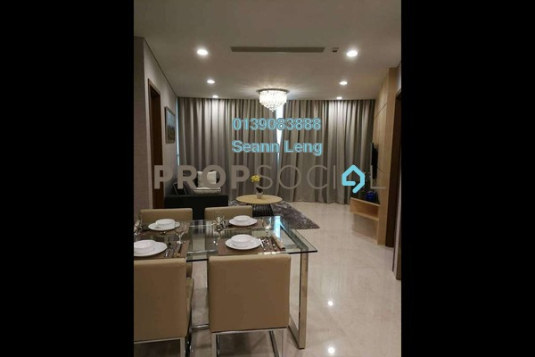 For Rent Condominium at Vortex Suites & Residences, KLCC Freehold Fully Furnished 2R/2B 4k