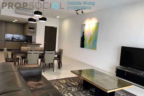 For Rent Condominium at Residensi 22, Mont Kiara Freehold Fully Furnished 3R/3B 6.5k