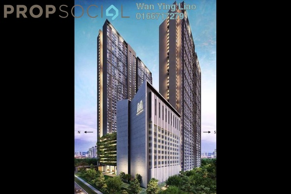 For Sale Serviced Residence at M Centura, Sentul Freehold Unfurnished 2R/1B 350k