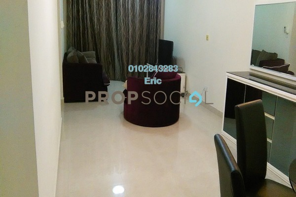 For Rent Condominium at Rivercity, Sentul Freehold Fully Furnished 3R/2B 1.9k