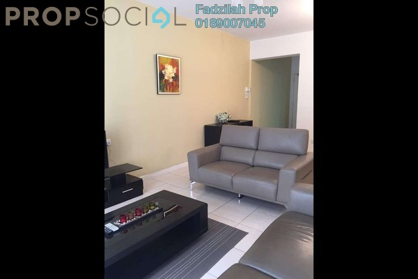 For Rent Condominium at Casa Kiara I, Mont Kiara Freehold Fully Furnished 3R/2B 3k