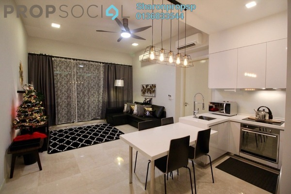 For Rent Condominium at Vogue Suites One @ KL Eco City, Mid Valley City Freehold Fully Furnished 1R/1B 2.8k