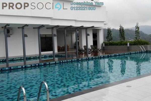 For Rent Condominium at Vila Vista, Cheras Freehold Semi Furnished 4R/4B 2.8k