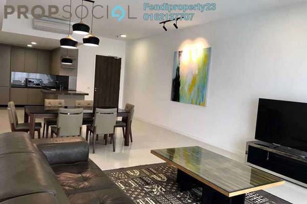 For Rent Condominium at Residensi 22, Mont Kiara Freehold Fully Furnished 4R/4B 6.5k
