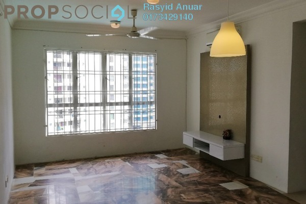 For Rent Condominium at Gurney Heights, Keramat Freehold Semi Furnished 3R/2B 1.8k