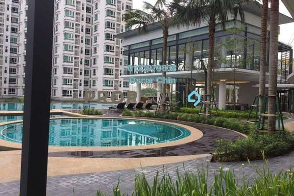 For Rent Condominium at V Residence 2 @ Sunway Velocity, Cheras Freehold Semi Furnished 2R/2B 2.5k