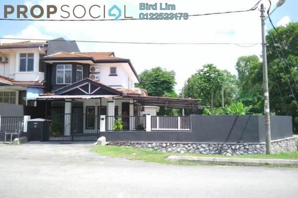 For Sale Terrace at Taman Puncak Jalil, Bandar Putra Permai Freehold Semi Furnished 4R/3B 1.28m