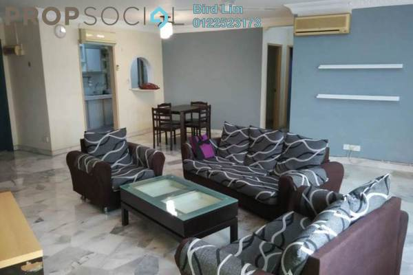 For Rent Condominium at De Tropicana, Kuchai Lama Freehold Semi Furnished 3R/2B 1.36k