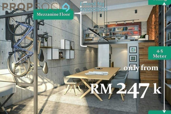 For Sale Office at Cheras Business Centre, Cheras Leasehold Unfurnished 0R/1B 246k