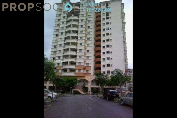 For Rent Condominium at Astaka Heights, Pandan Perdana Freehold Semi Furnished 3R/2B 1.4k