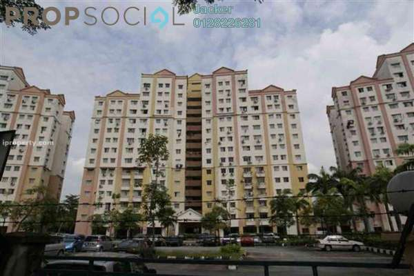 For Rent Condominium at Avenue Court, Old Klang Road Freehold Semi Furnished 3R/2B 1.1k
