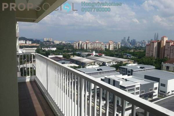 For Rent Condominium at Platinum Lake PV20, Setapak Freehold Semi Furnished 4R/2B 1.7k