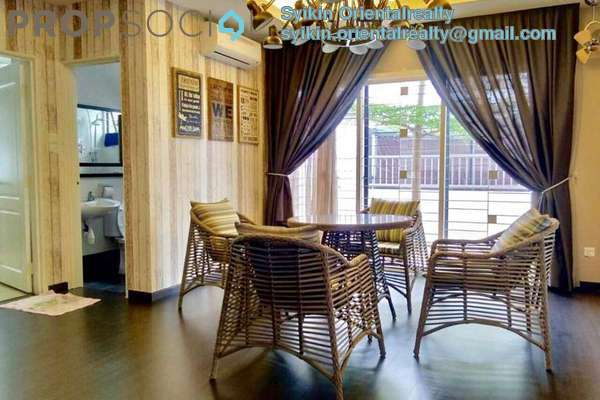 For Sale Semi-Detached at Saujana Palma Residences , Kajang Freehold Fully Furnished 6R/5B 1.68m