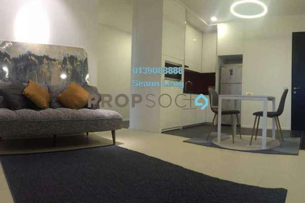 For Rent Condominium at Arcoris, Mont Kiara Freehold Fully Furnished 1R/1B 2.65k