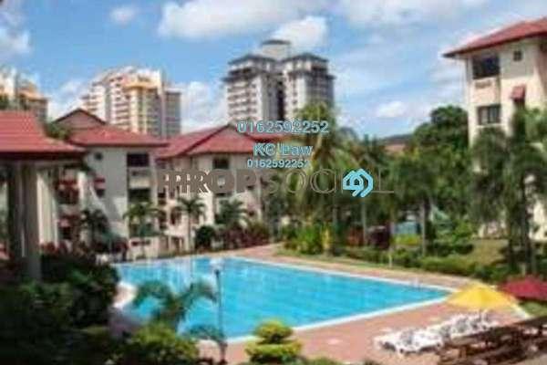 For Rent Condominium at Kiara Park, TTDI Freehold Fully Furnished 3R/2B 2.4k