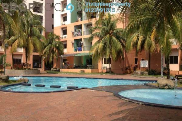 For Sale Condominium at City Garden Palm Villa, Pandan Indah Freehold Semi Furnished 3R/2B 470k