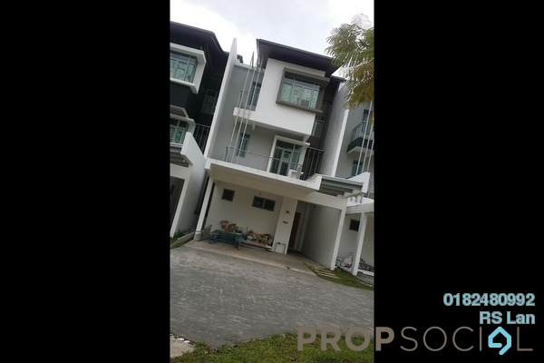 For Rent Superlink at Symphony Hills, Cyberjaya Freehold Semi Furnished 4R/4B 3k