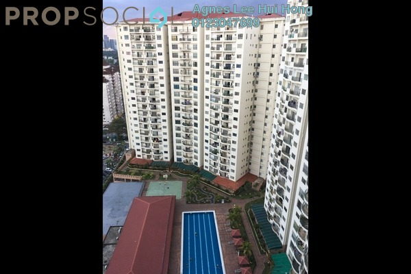For Rent Condominium at Prima Setapak I, Setapak Freehold Fully Furnished 3R/2B 1.7k