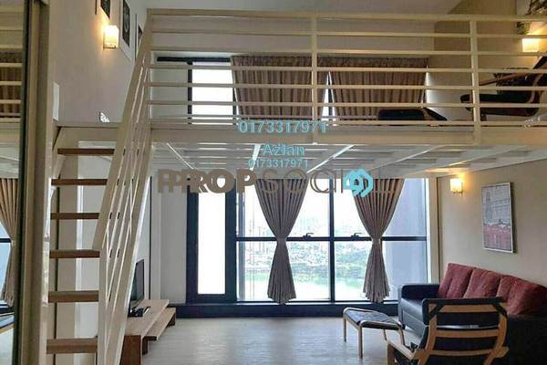 For Rent SoHo/Studio at M City, Ampang Hilir Freehold Fully Furnished 1R/1B 2.5k