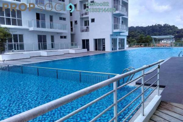 For Sale Condominium at Duet Residence, Bandar Kinrara Freehold Semi Furnished 3R/2B 660k