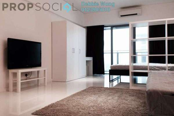 For Sale Condominium at Summer Suites, KLCC Freehold Fully Furnished 0R/1B 550k