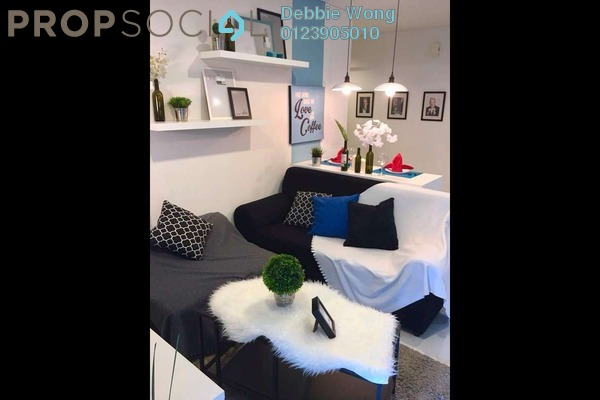 For Sale Condominium at Summer Suites, KLCC Freehold Fully Furnished 2R/1B 750k