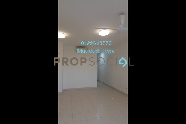 For Rent Apartment at Residensi Pandanmas, Pandan Indah Freehold Semi Furnished 3R/2B 1.3k