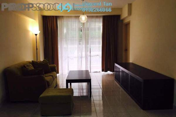For Sale Condominium at Laman Suria, Mont Kiara Freehold Semi Furnished 3R/2B 718k