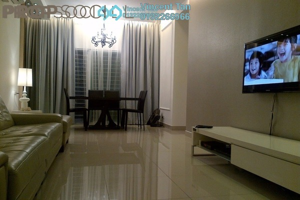 For Sale Condominium at Laman Suria, Mont Kiara Freehold Semi Furnished 2R/2B 598k