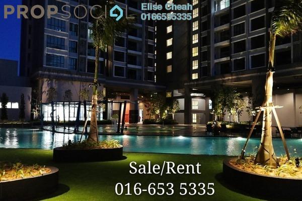 For Rent Condominium at LakePark Residence @ KL North, Selayang Freehold Semi Furnished 3R/2B 2.3k
