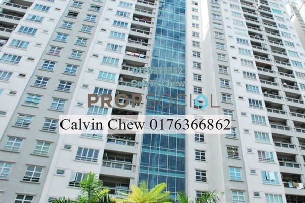 For Sale Condominium at Sterling, Kelana Jaya Freehold Unfurnished 3R/0B 630k